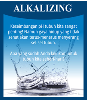 alkalizing kangen water