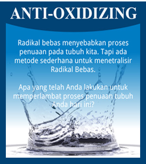 anti-oxidzing kangen water
